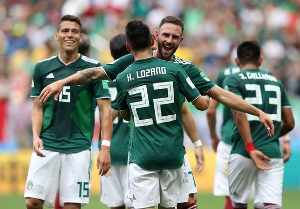 Germany 0-1 Mexico