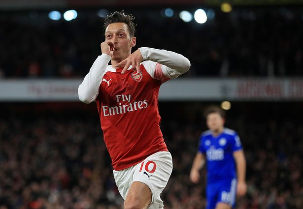 Arsenal 3-1 Leicester City.