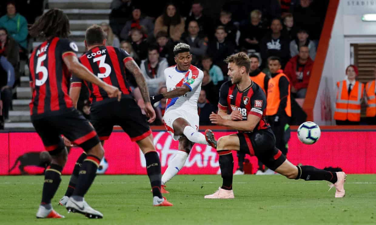 Bournemouth AFC 2-1 Crystal Palace.