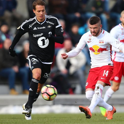 SOCCER - RBS vs Rosenborg, test match