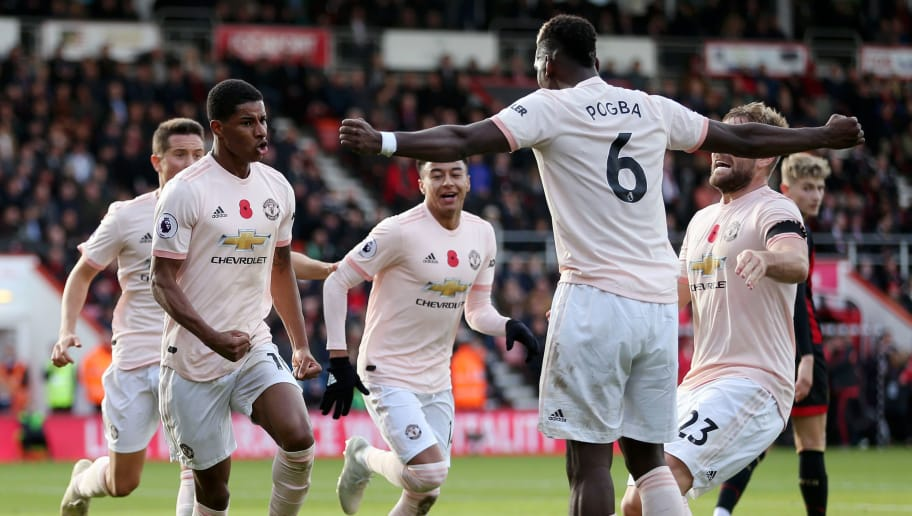 Bournemouth AFC 1-2 Manchester United