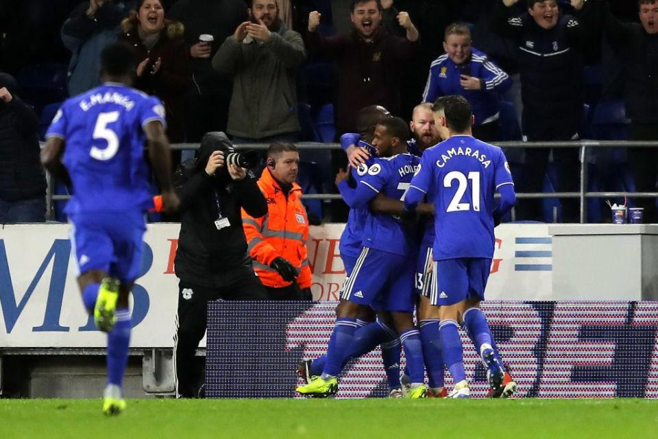 Cardiff City 2-1 Wolves.