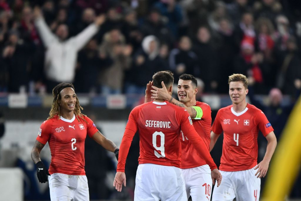 Switzerland 5-2 Belgium.