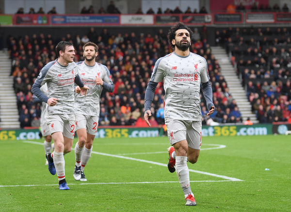 Bournemouth AFC 0-4 Liverpool