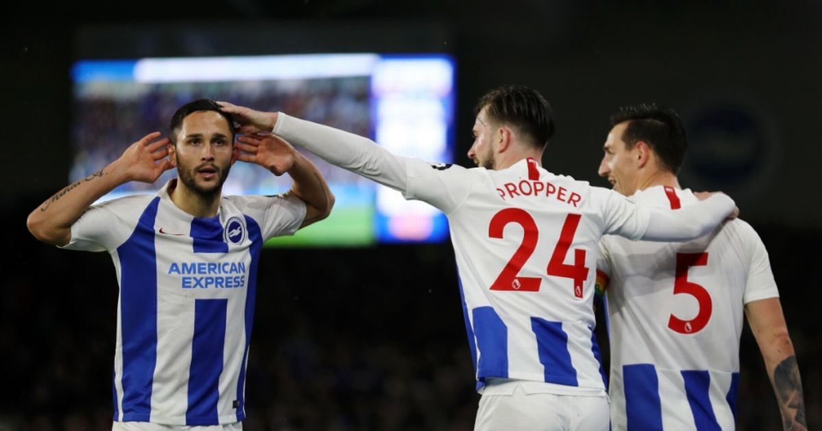 Brighton Hove Albion 3-1 Crystal Palace