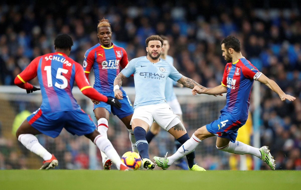 Manchester City 2-3 Crystal Palace-