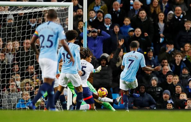 Manchester City 3-1 Bournemouth AFC.