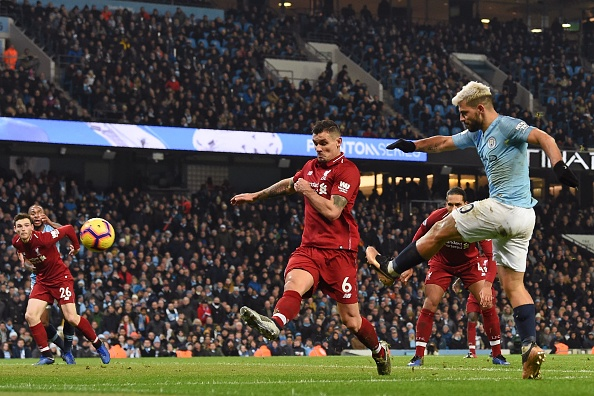 Manchester City 2-1 Liverpool.