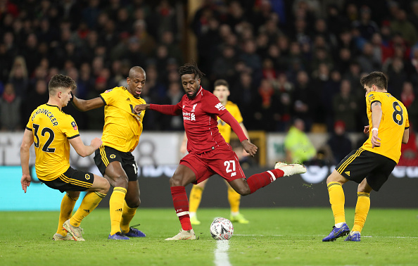 Wolves 2-1 Liverpool.