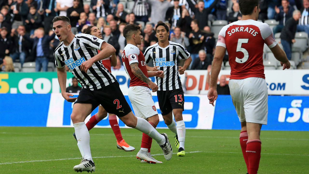 Newcastle United -Arsenal